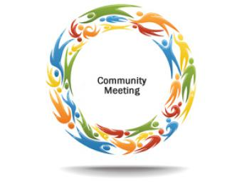 Community Meeting on July 20th