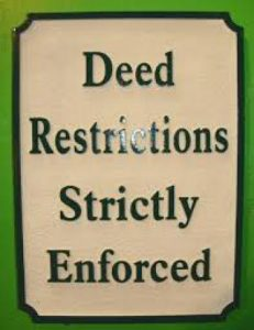 Lancaster Community Deed Restrictions are Strictly Enforced