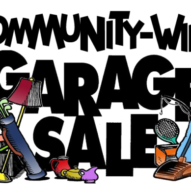 Community Garage Sale April 22nd