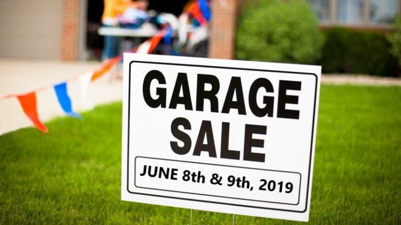 Community Garage Sale – June 8th & 9th, 2019