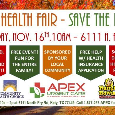 Apex Urgent Care Free Health Fair